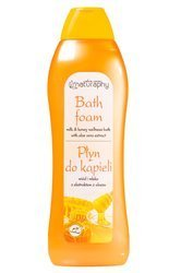 Honey and milk bubble bath with aloe vera extract 1L
