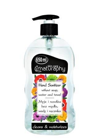 Antibacterial hand gel 650 ml