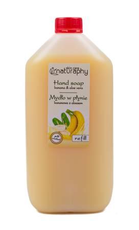 Banana liquid soap with aloe 5L