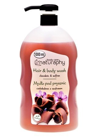 Chocolate shower soap with saffron 1L