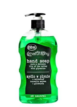 Liquid soap with a delicate May lily of the valley and glycerin 650 ml