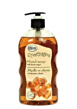Liquid soap with brown sugar 650 ml
