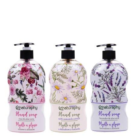 Naturaphy Romance hand soap set 3x 650ml