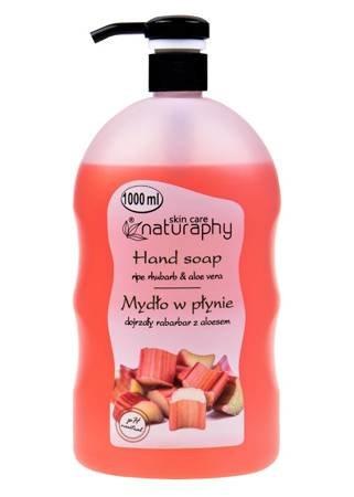 Rhubarb liquid hand soap with aloe vera 1L