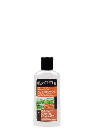Shampoo for dry and damaged hair with aloe and almond extracts 100 ml