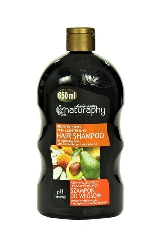 Shampoo for light and dry hair with chamomile and avocado extracts 650 ml