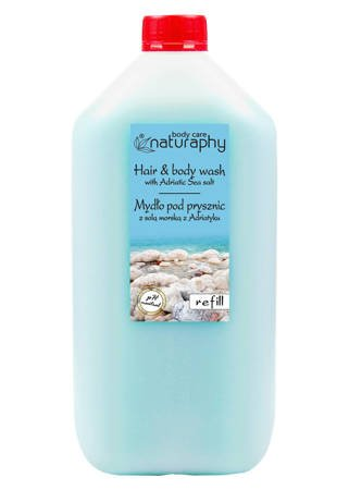 Shower soap with Adriatic sea salt 5L canister
