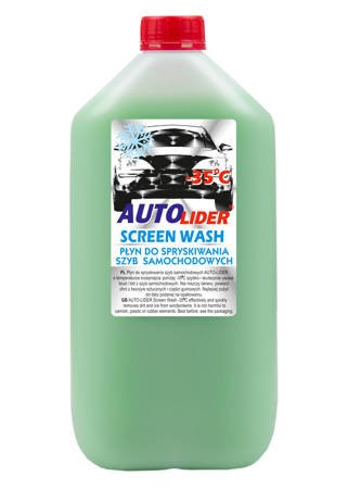 Winter washer fluid -35 ℃, canister 5L