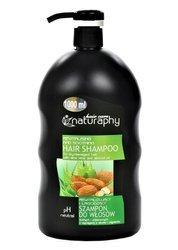 Rewitalizujący i łagodzący szampon do włosów suchych i zniszczonych z wyciągiem z aloesu i migdałów 1L