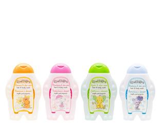 Zestaw mydeł pod prysznic KIDS 4x 300 ml