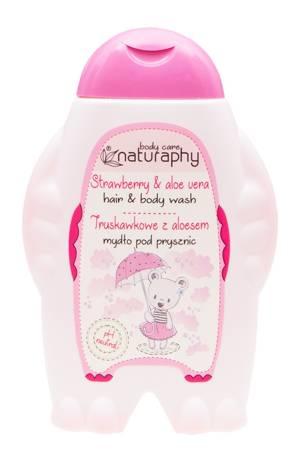 KIDS mydło pod prysznic truskawkowe z aloesem 300 ml