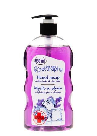 Mydło do rąk w płynie antybakteryjne lawendowe z aloesem 650 ml