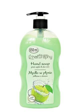 Mydło do rąk w płynie jabłkowe z aloesem 650 ml
