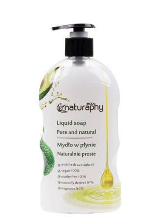 Mydło do rąk w płynie naturalne ECO z olejkiem awokado 650 ml