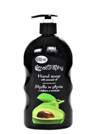 Mydło do rąk w płynie z olejkiem z awokado 650 ml