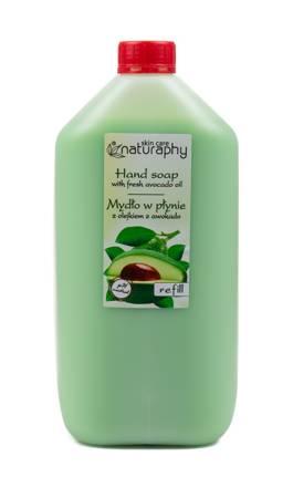 Mydło do rąk w płynie z olejkiem z awokado Naturaphy 5L