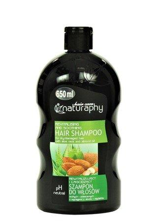 Szampon do włosów suchych i zniszczonych z wyciągiem z aloesu i migdałów 650 ml