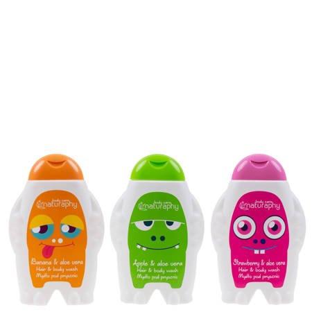 Zestaw mydeł pod prysznic Monsters 3x 300 ml